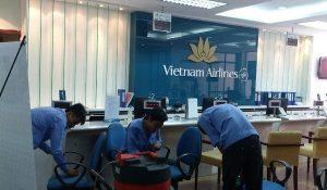 Thuê lau dọn vệ sinh theo giờ ở nhà chung cư văn phòng Hà Tĩnh