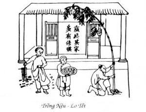 Tiếp biến văn hóa qua tục dựng cây nêu ngày tết ở Hà Tĩnh